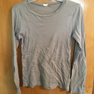 J. Crew basic long sleeve top